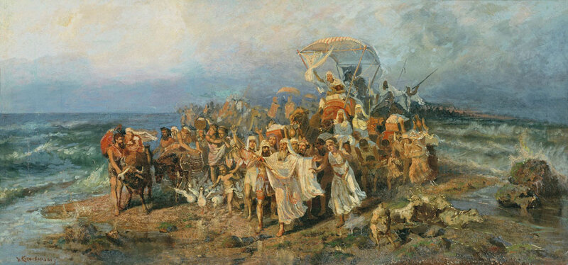 Переход евреев через Чермное море