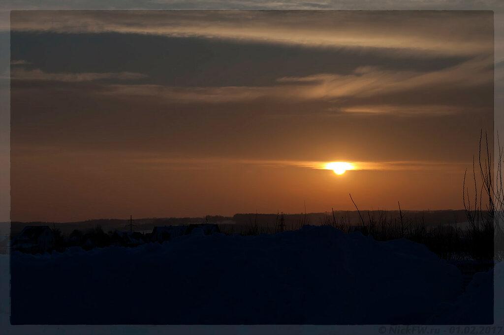 Закат (© NickFW - 01.02.2017)