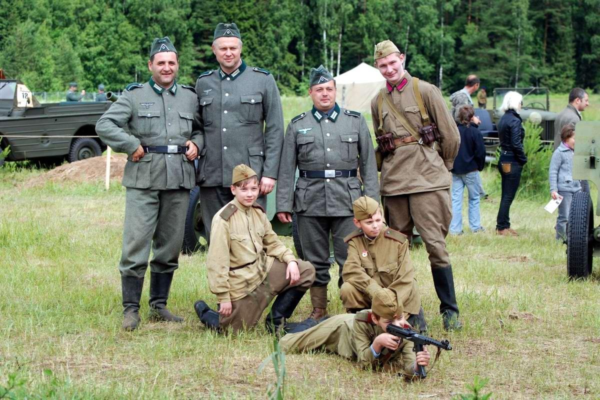 Забавные моменты из жизни военных реконструкторов (113)