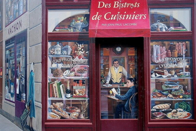 La Fresque Des Lyonnais. Лион
