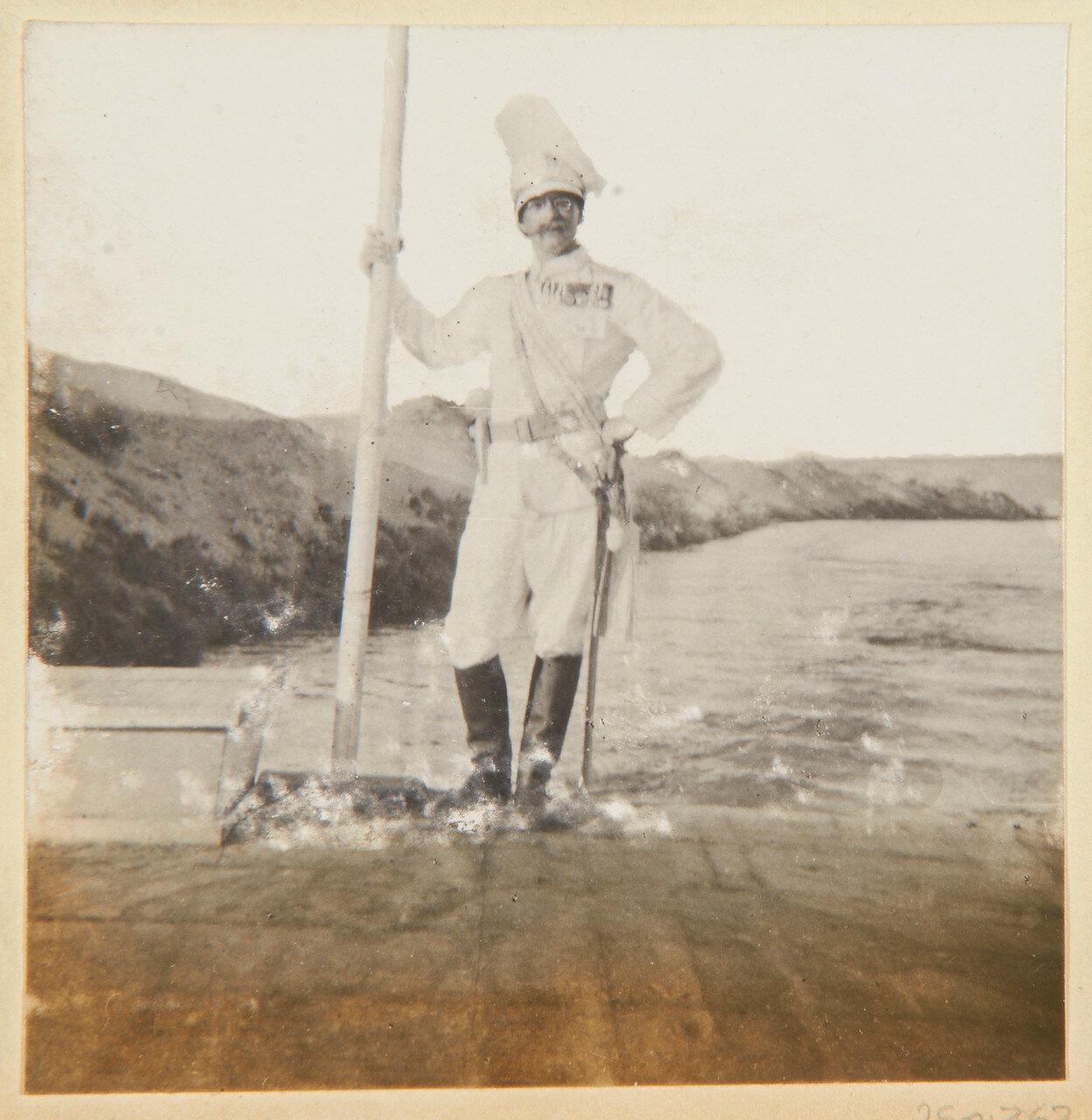 Август 1898. Капитан фон Тидеман (1865-1915), немецкий военный атташе
