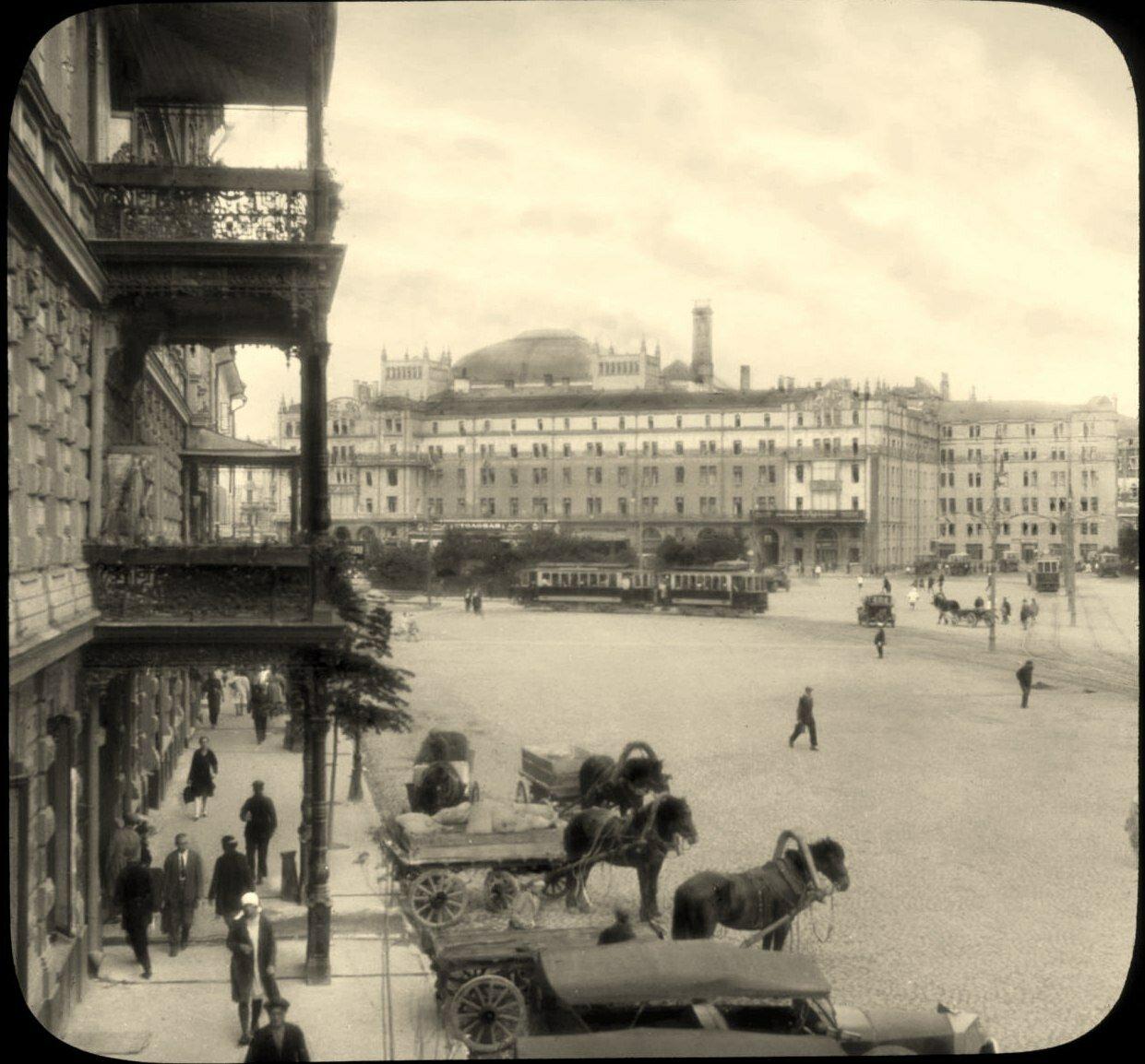 Москва. Отель Метрополь