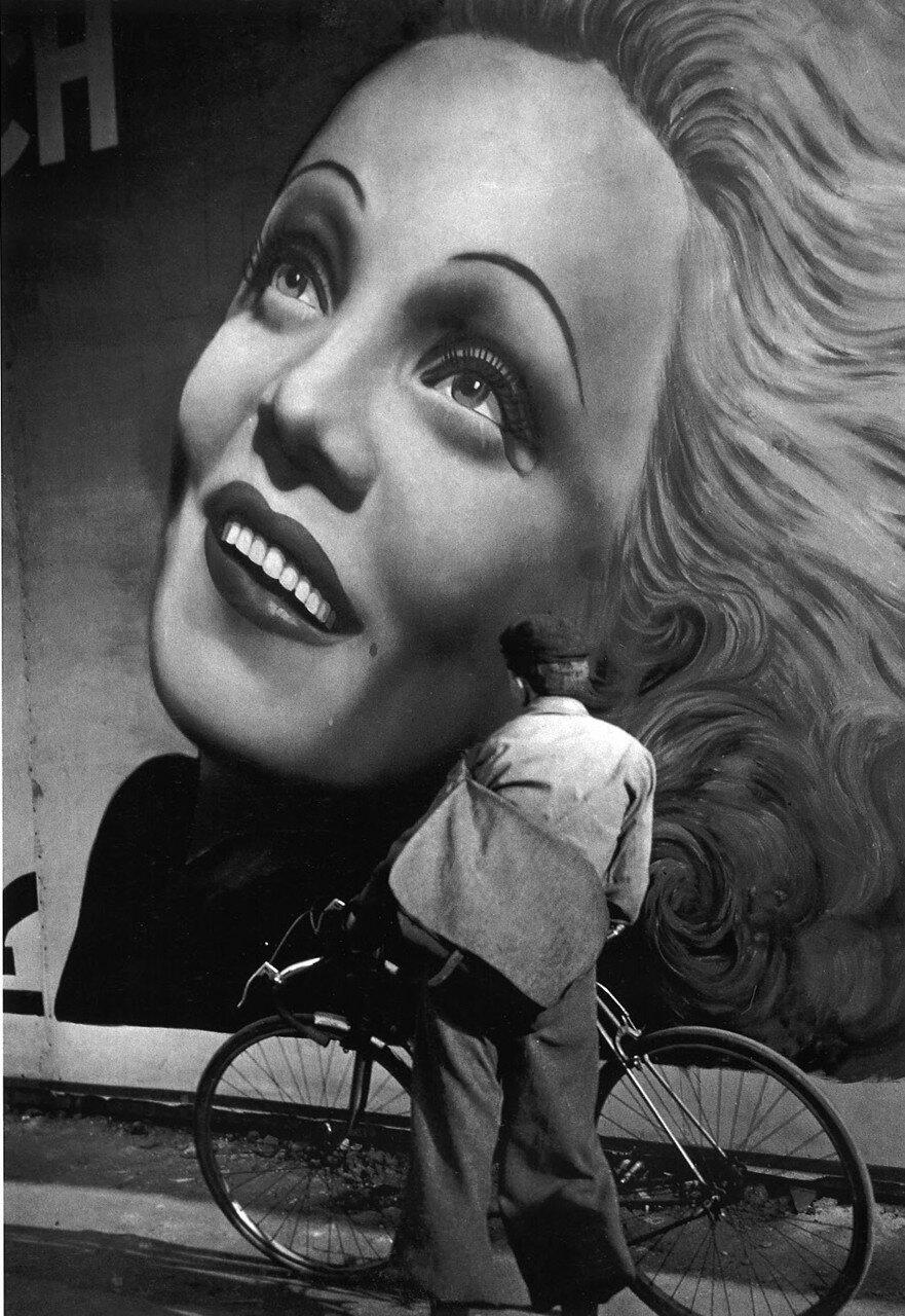 1937. Биллбоард с Марлен Дитрих