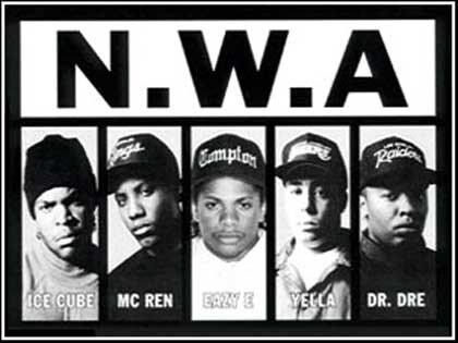 ����� � N.W.A ��������� � ������������.