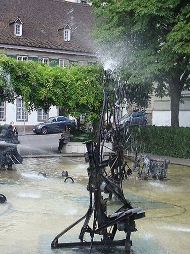 Базельские фонтаны