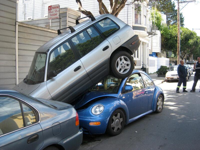 загадочная парковка