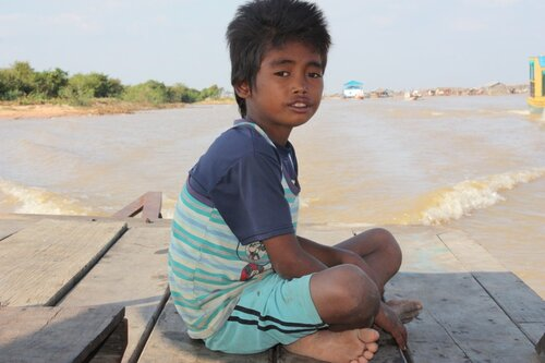 В Камбодже!