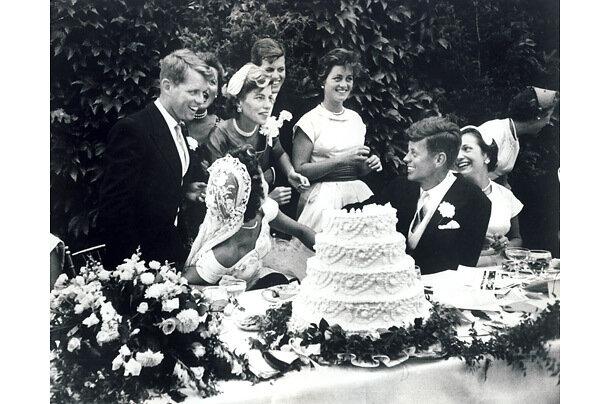 Свадьба Джона Кеннеди