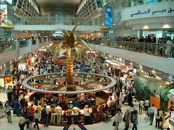 Лучший в мире аэропорт в Дубае