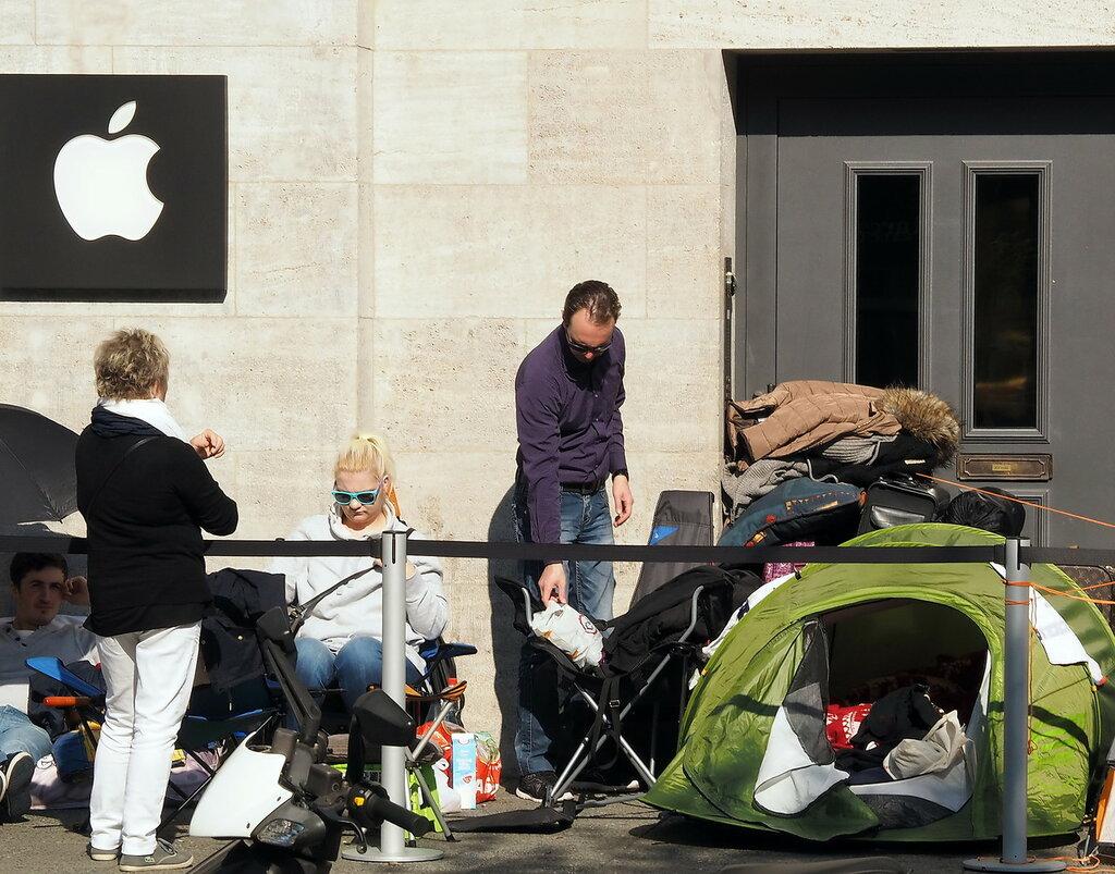 24.09.2015 Apple Store, Berlin