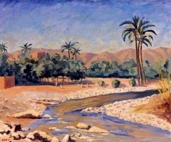 Вид на Тинхерир, Марокко 1951.jpg