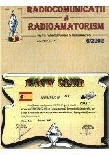 Журнал Radiocomunicatii si radioamatorism № 6, 2002