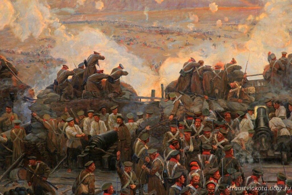 Крым, Панорама Оборона Севастополя