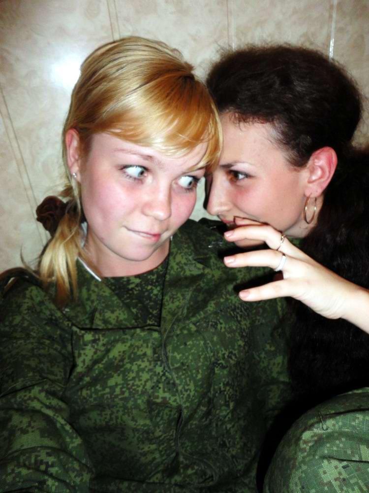 От тайги до британских морей ... : Лица девушек из Российской армии (19)