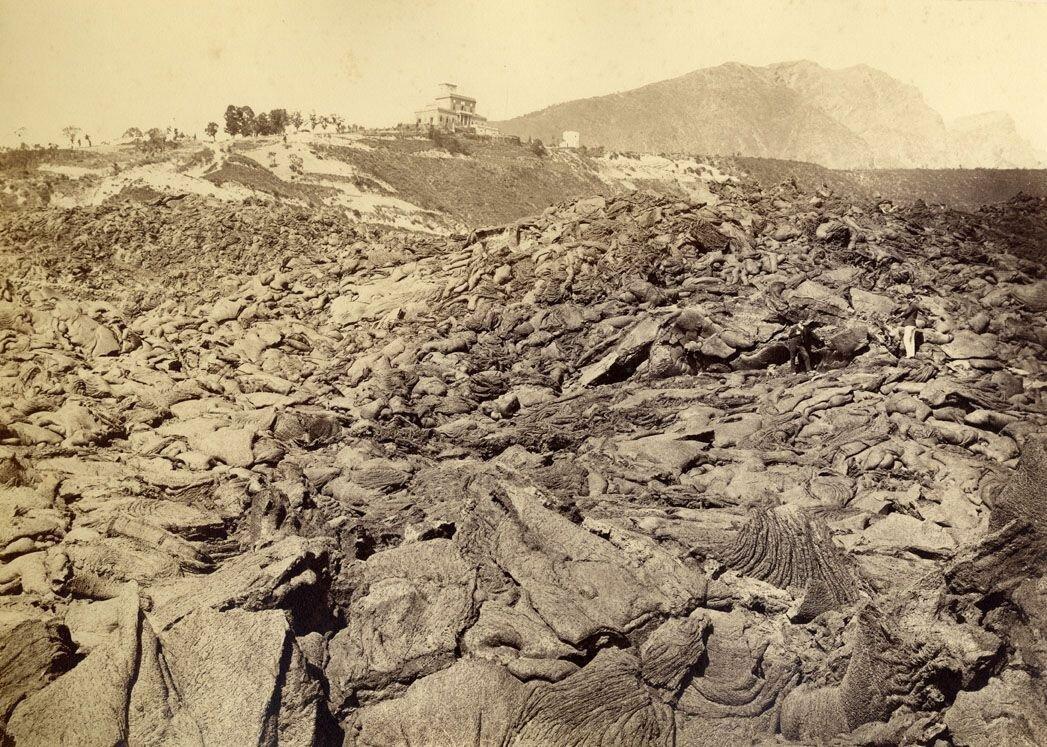 Лава Визувия