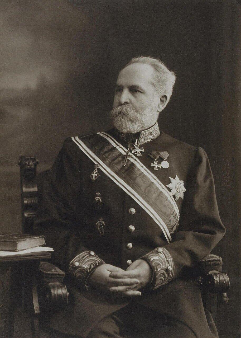 Портрет Николая Петровича Лихачева. 1916