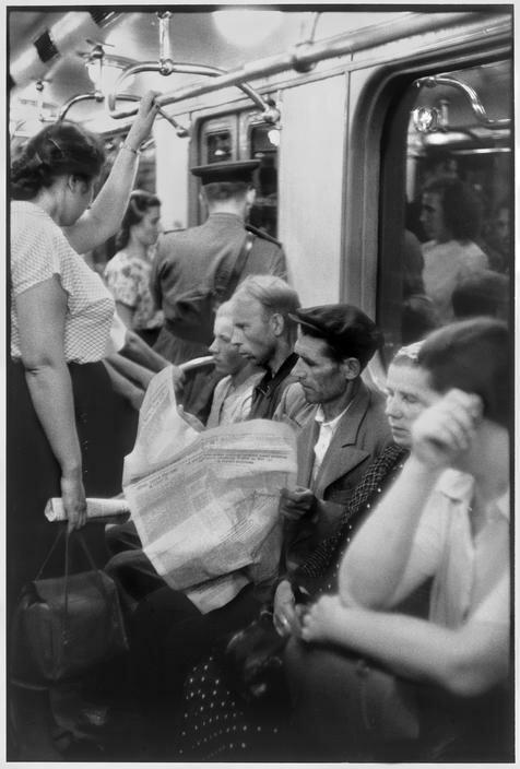1954. Москва. Метро