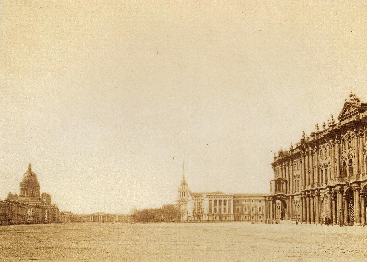 Дворцовая площадь. 1860-е