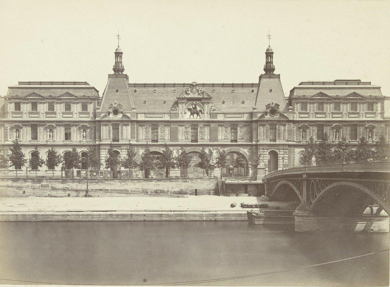 1860-е. Лувр