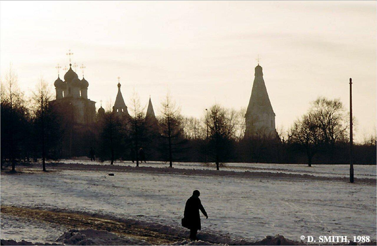 Коломенское. Вид музея под открытым небом