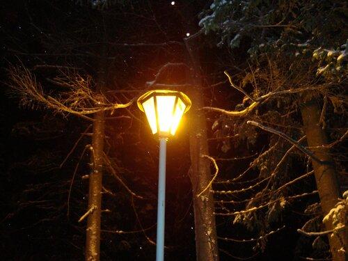 Ночь, улца, фонарь...