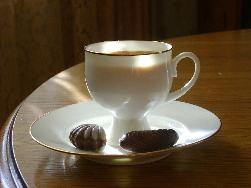 Чашечка кофе. Утро.