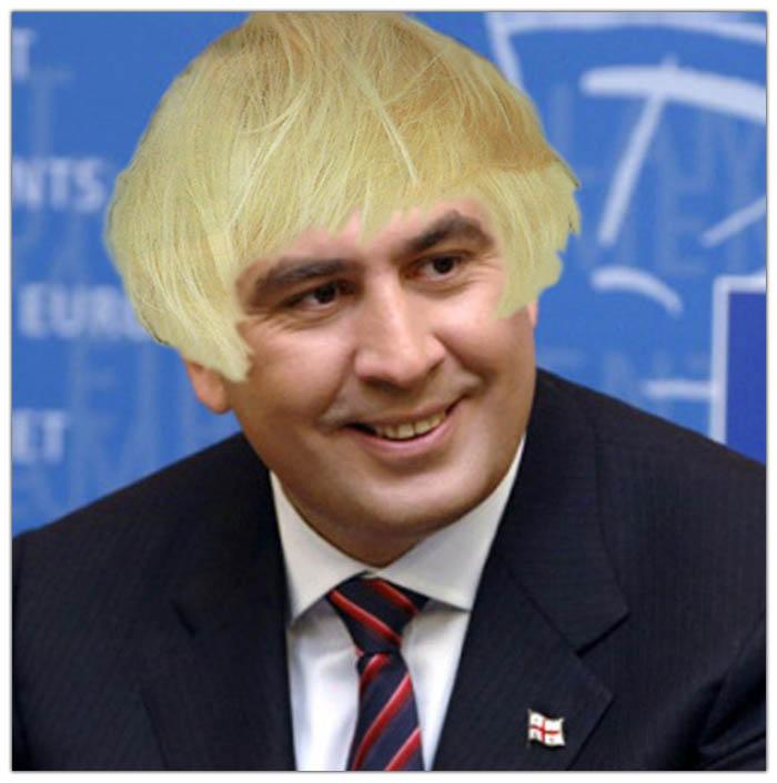 Гламурный Саакашвили