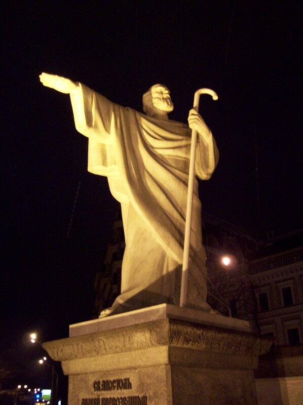 Памятник Андрею Первозванному на Михайловской площади