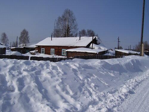 Сибирские сугробы