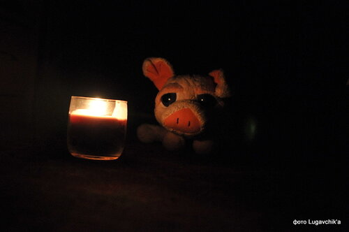 Смотреть на свечи