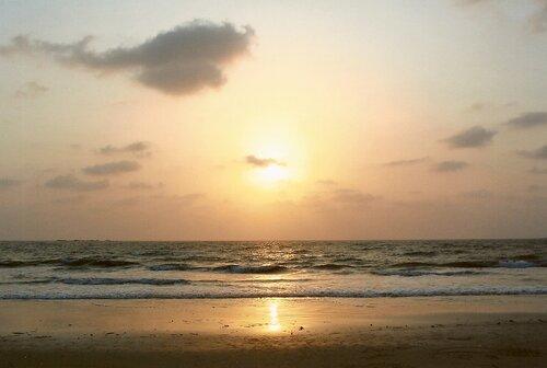 Индийский океан, западный берег южной Индии - Удупи