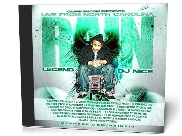Legend And DJ Nice Present Rain - Live From North Carolina (2009)