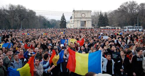 Митинг в Кишинёве