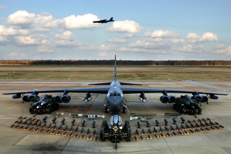 вооружение бомбардировщика B-52H