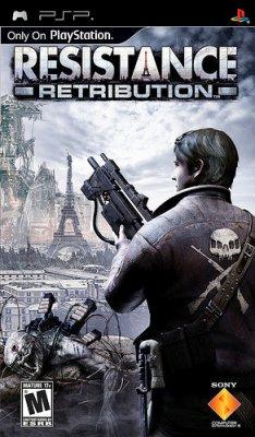 Resistance: Retribution [PSP, fullgame, 2009]