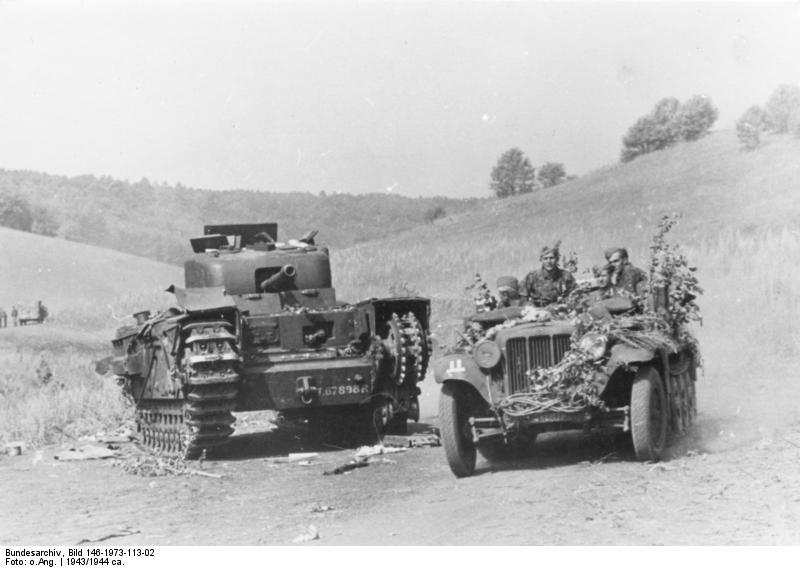 Sd.Kfz. 10 / Mk. IV Churchill
