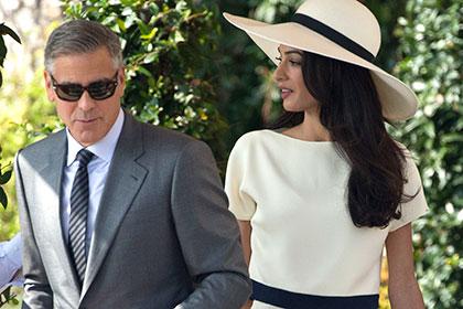 Джордж Клуни и его супруга Амаль далеки от развода