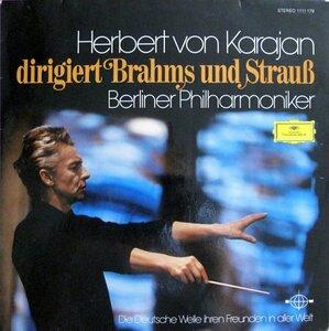 Herbert von Karajan dirigiert Brahms und Strauß (1973) [Deutsche Grammophon,  1111 179]