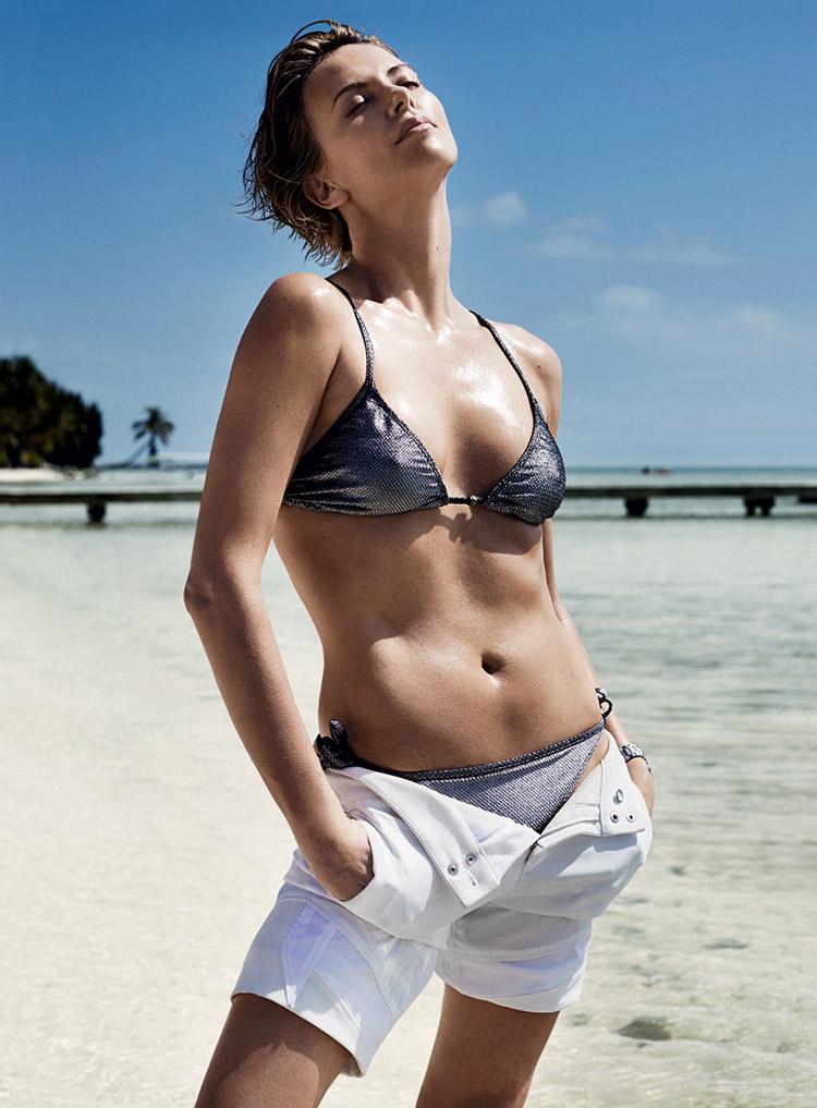 Шарлиз Терон в июньском номере American Vogue 2014