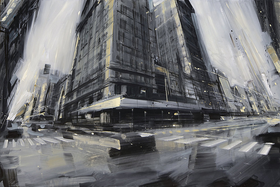Пейзажи Нью-Йорка, картины Валерио Ди Оспина