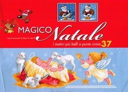 Книга I motivi piu belli a Punto Croce №37 -  Magico Natale