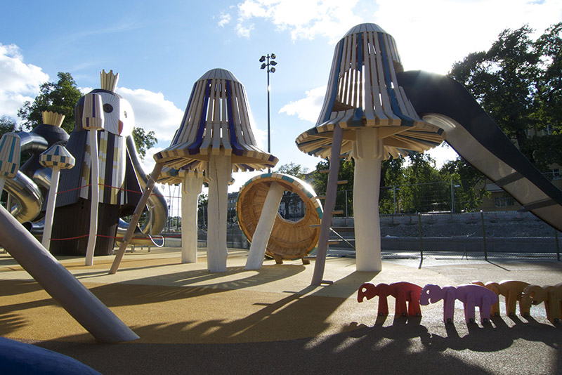 New Ridiculously Imaginative Playgrounds from Monstrum Set the Monkey Bars High for Innovation