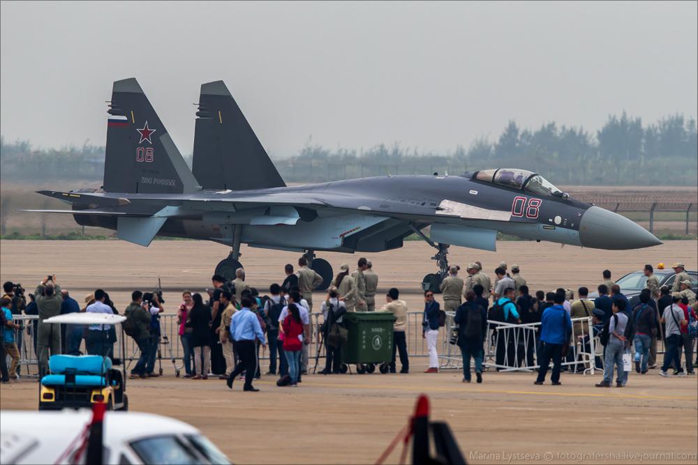 China Air Show-2014 за день до открытия