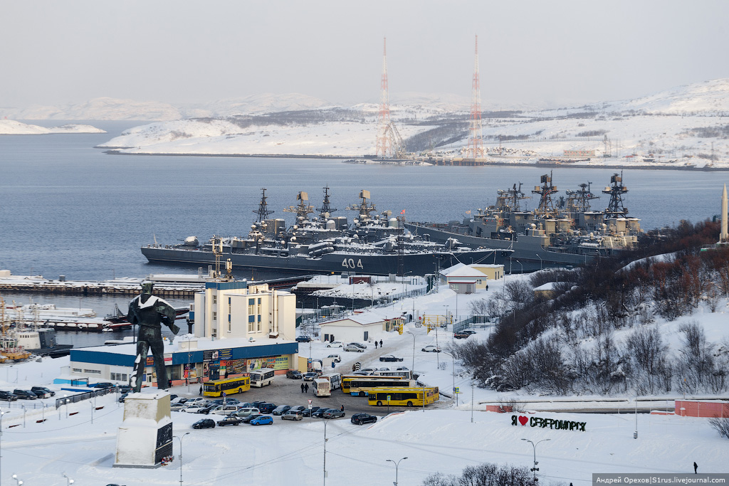 За северным сиянием – Североморск