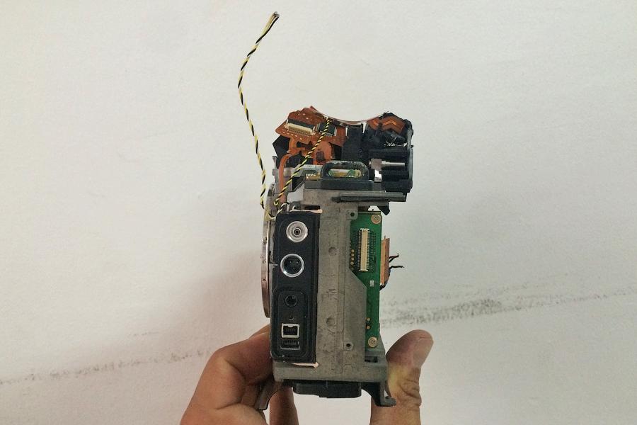 Naked camera