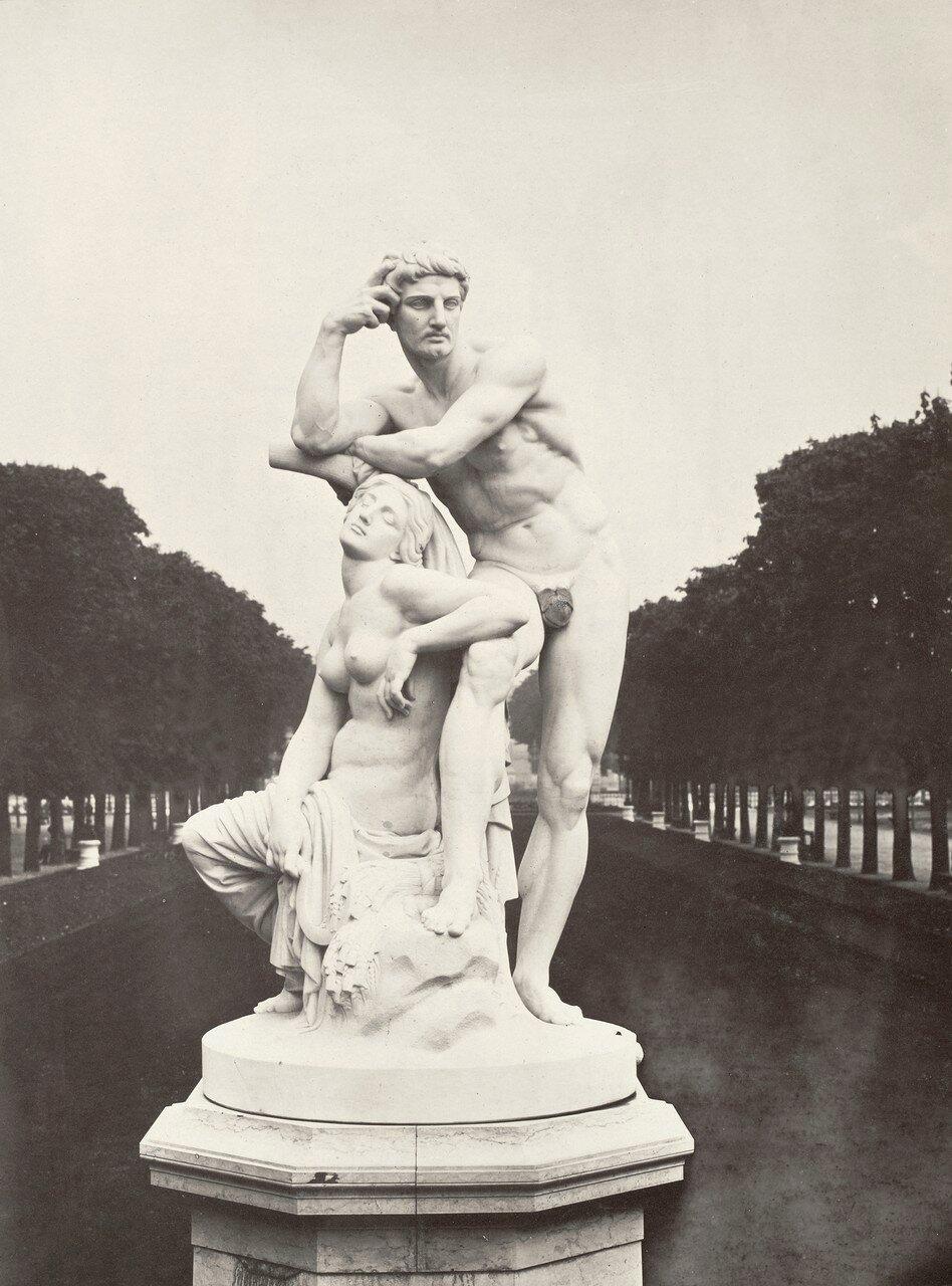 1860-е. «Сумерки» в Люксембургском саду