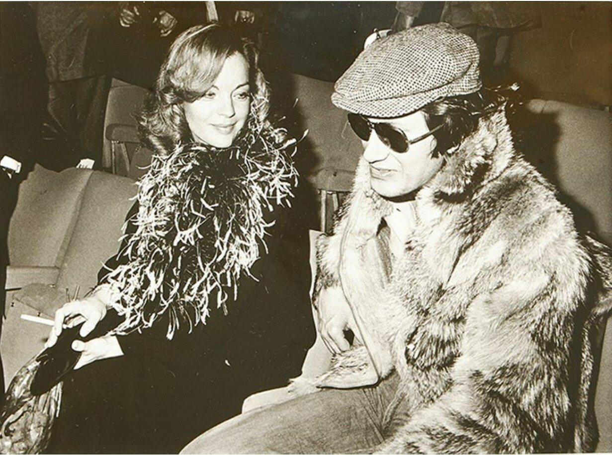 1976. Роми Шнайдер и Жак Дютрон. Париж