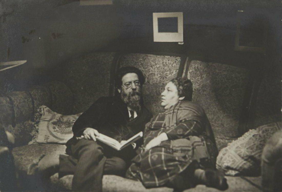 1926. Ида Моисеевна Наппельбаум. Моисей Наппельбаум со своей женой Розой