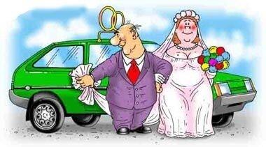 Анекдоты на свадебную тему и не только