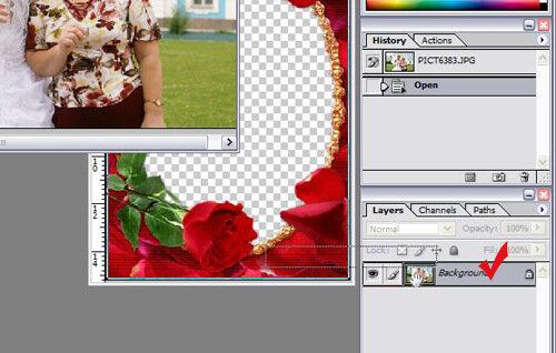 вставить фото в рамку онлайн 2 фото